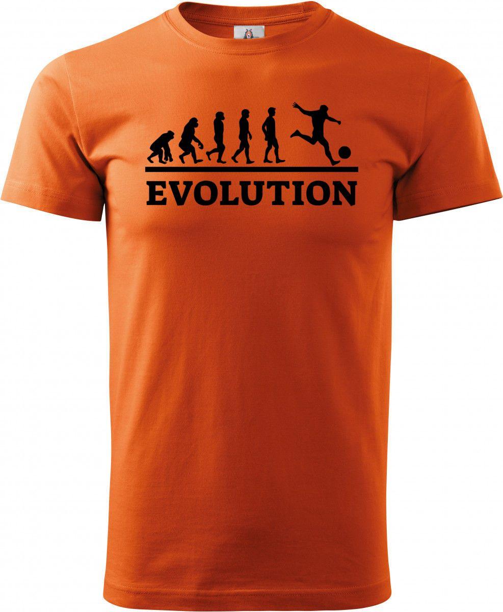 Evolution fotbal, černý tisk