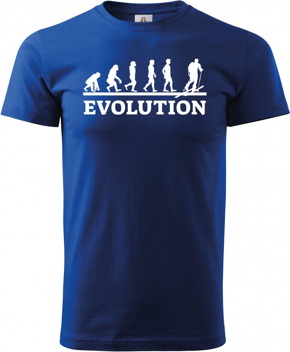 Evolution skialpy, bílý tisk