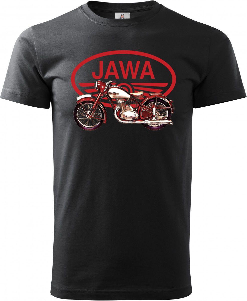 """Jawa 250/350 """"Pérák"""", červené logo V9. Tričko, mikina"""
