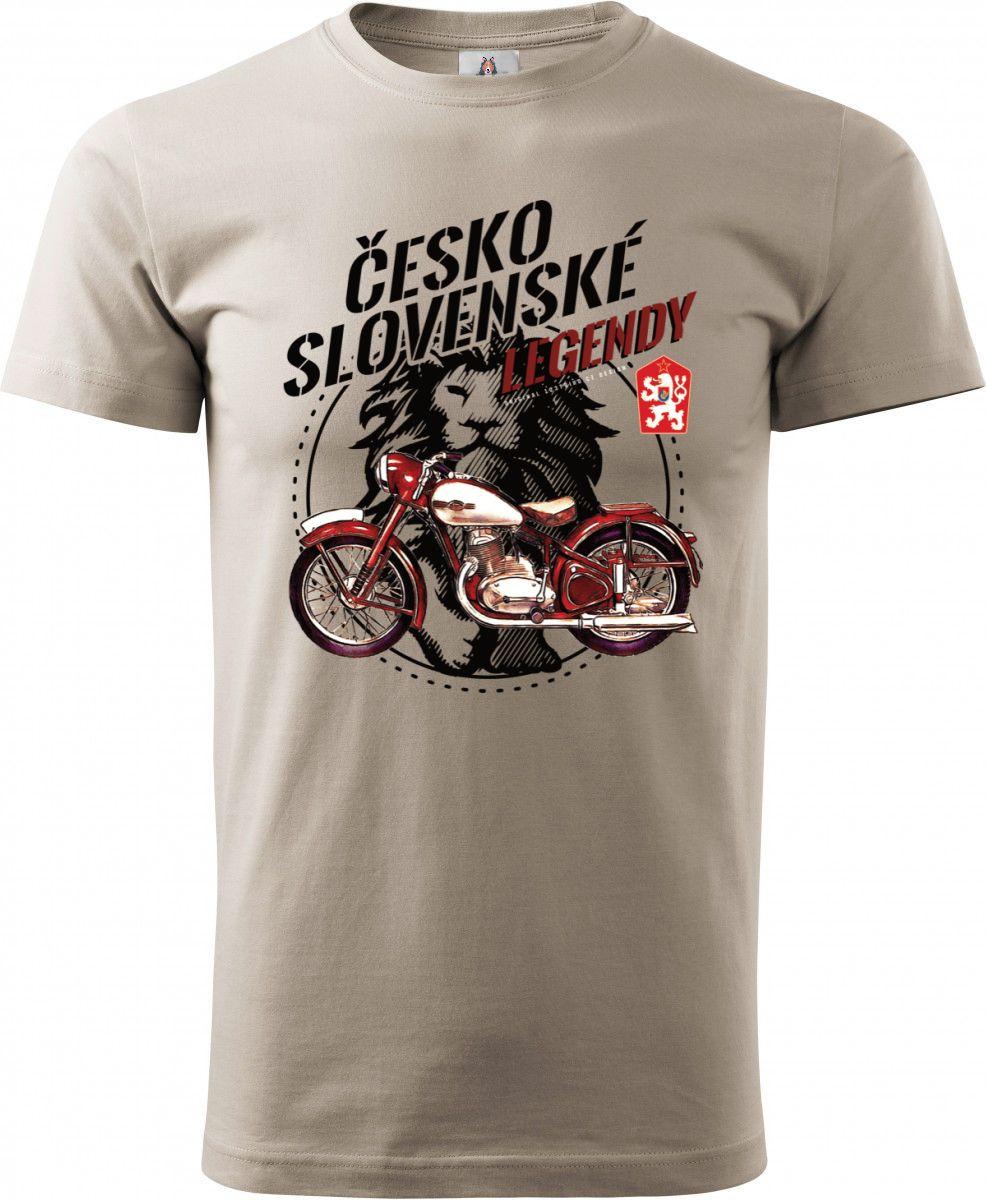 """Jawa 250/350 """"Pérák"""", Československé legendy, černé v3. Tričko, mikina"""