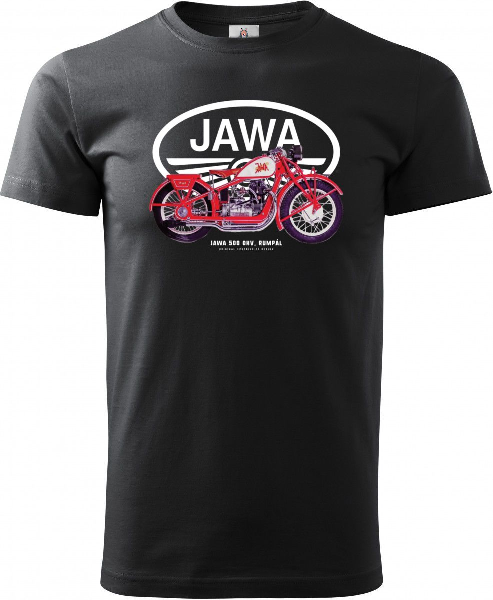 """Jawa 500 OHV """"Rumpál"""", logo V4"""