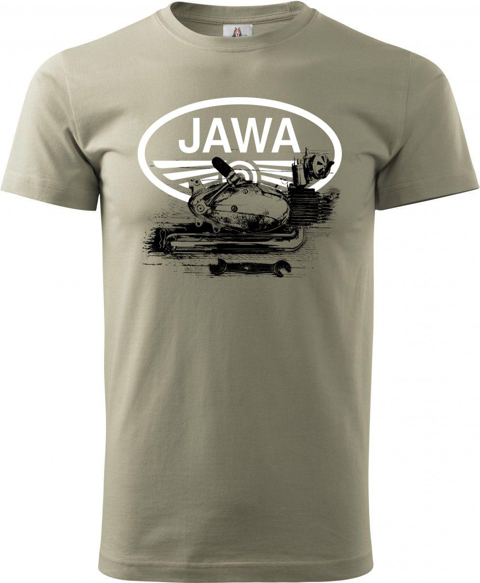 Jawa motor z Fichtla - 500 koní