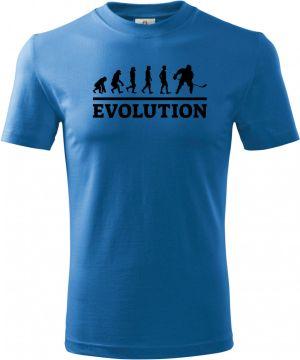 Evolution hokej, černý tisk