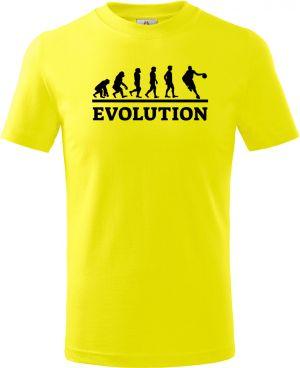 Evolution basket, černý tisk