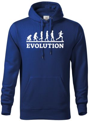 Evolution běh, bílý tisk