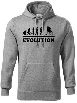 Evolution florbal, černý tisk