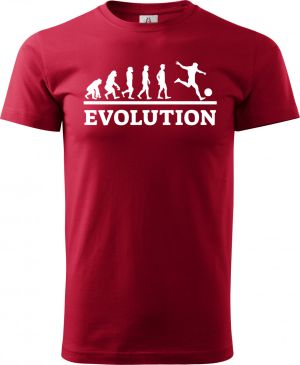 Evolution fotbal, bílý tisk