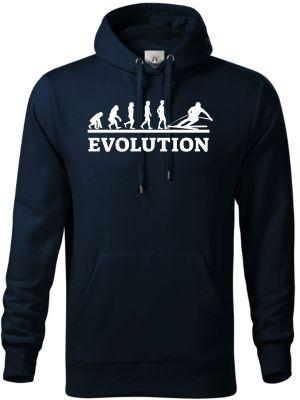 Evolution lyžování, bílý tisk