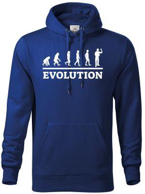Evolution šipky. Bílý tisk