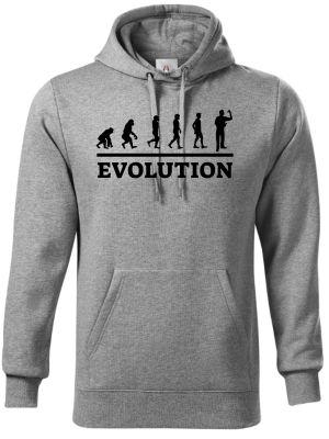 Evolution šipky. Černý tisk