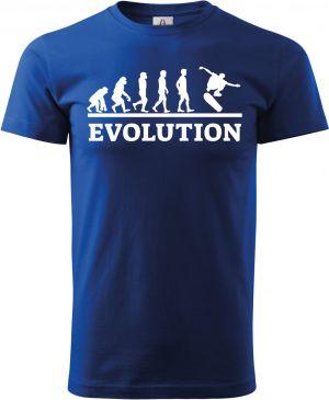 Evolution skateboarding, bílý tisk