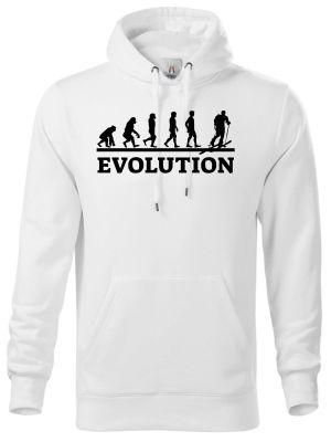 Evolution skialpy, černý tisk