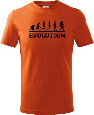 Evolution trekking a hiking, černý tisk