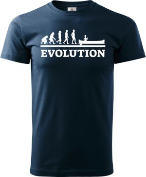 Evolution VODÁK. Bílý tisk