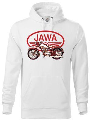 """Jawa 250/350 """"Pérák"""", červené logo V9."""