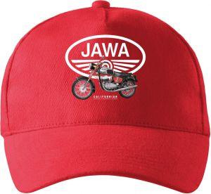 Jawa Californian, bílé logo v4. Tričko, mikina