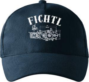 Jawa FICHTL, motor, bílý