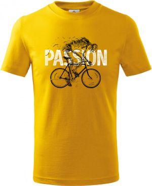 Passion - vášeň, cyklista, kostra, V2