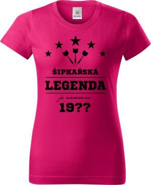 Šipkařská legenda je narozena (doplňte rok narození). Černý tisk