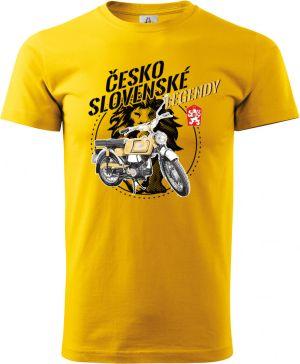 """Tričko Jawa Mustang """"Československé legendy"""""""