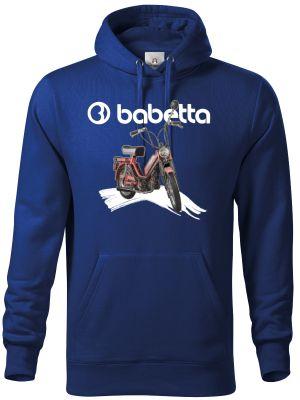 Babetta, logo bílé - tričko, mikina