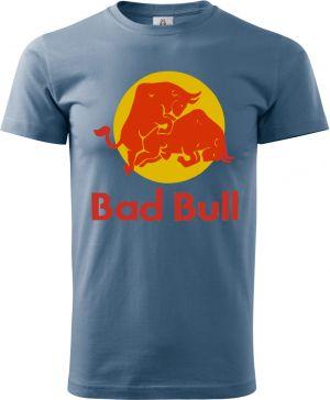 BAD BULL, tričko, zástěra mikina