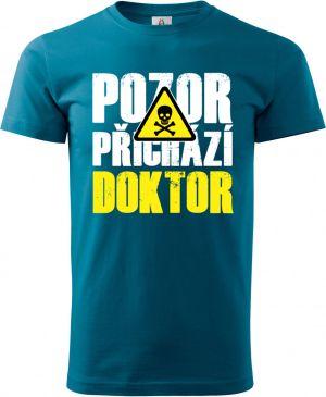 Triko Pozor přichází DOKTOR