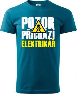 Triko Pozor přichází ELEKTRIKÁŘ
