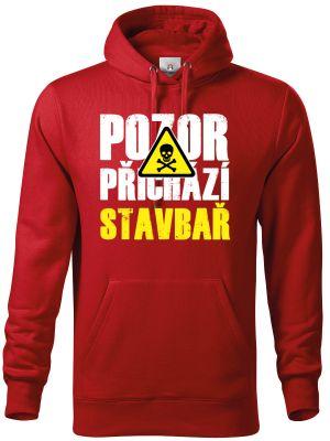 Triko Pozor přichází STAVBAŘ