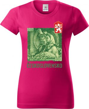 Triko se stokorunou - ČESKOSLOVENSKO, tričko a mikina