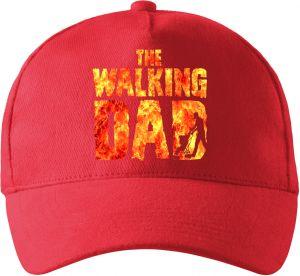 Walking DAD, barevný potisk, oheň 2