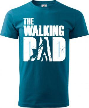 Walking DAD, bílý potisk